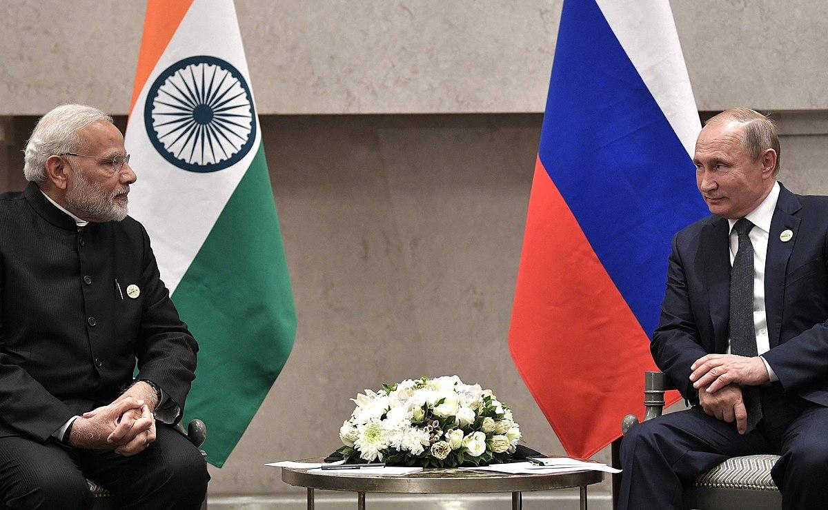 Саммит Путина и Моди