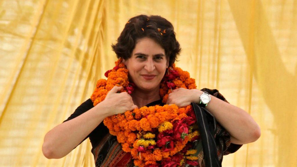 Приянка Ганди присоединилась к ИНК накануне парламентских выборов