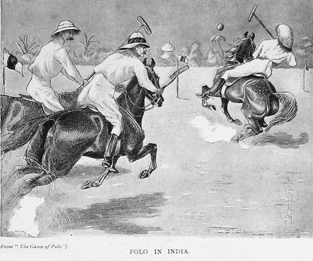 Конное поло в Индии