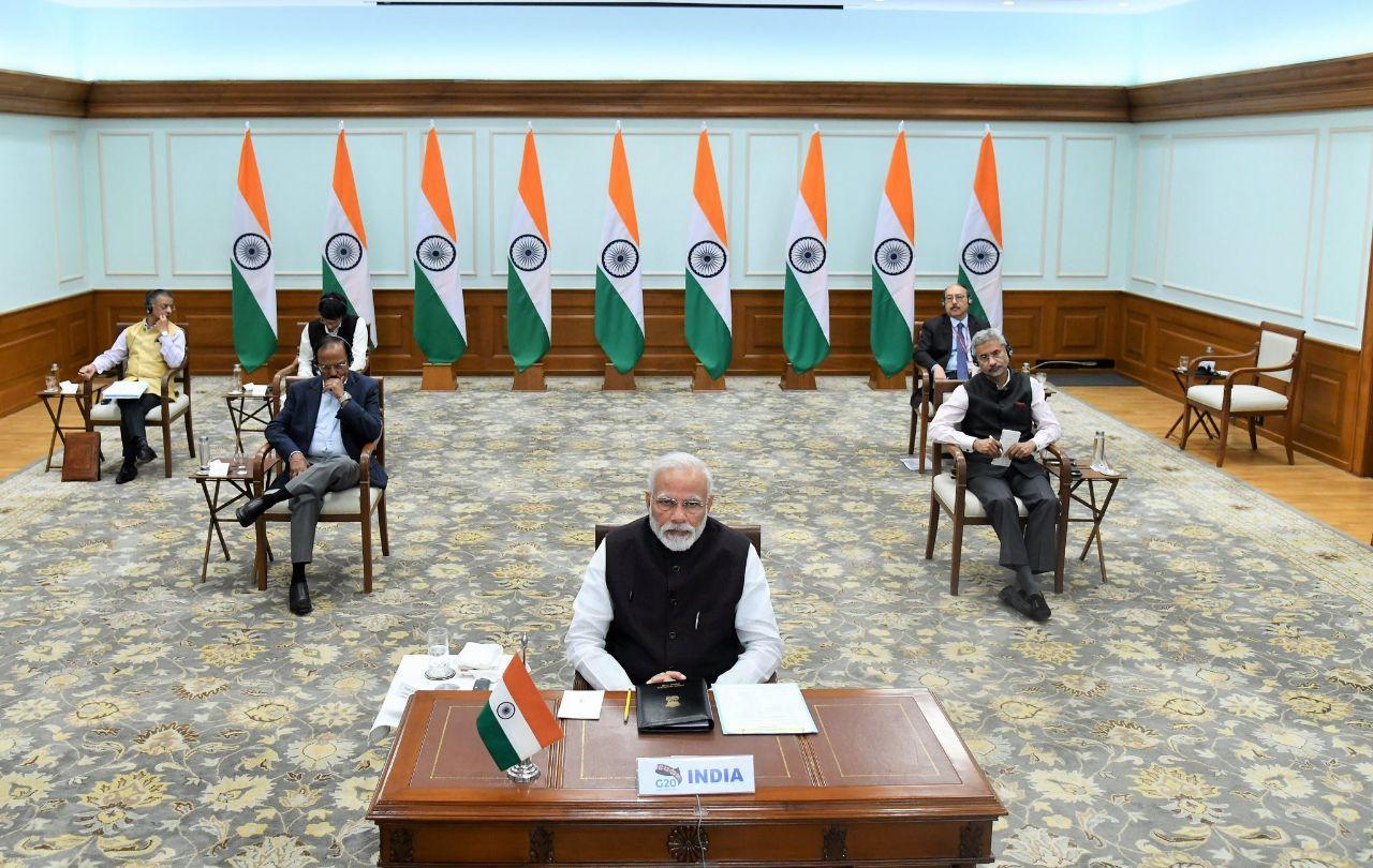 Индия на виртуальном саммите G20