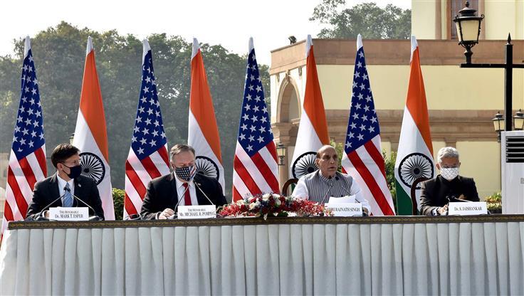 """Диалог Индии и США в формате """"2+2"""""""